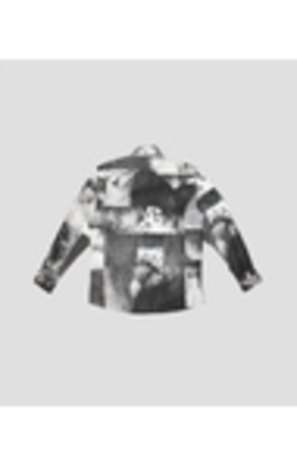 Unisex Carter Young Roeg Cohen Collage Shirt - Black/White