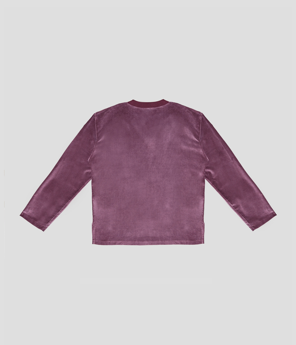 Unisex Carter Young Varsity Sweater - English Rose