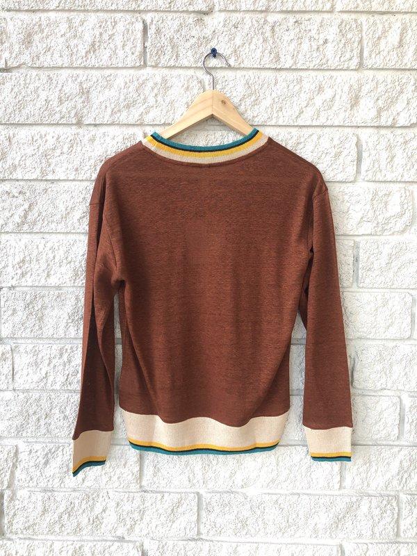 Bellerose SENIA sweater - SEQUOIA
