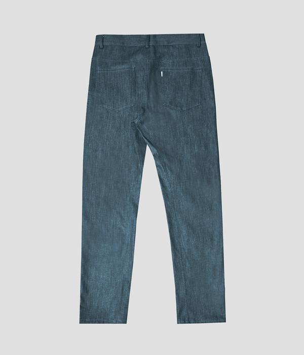 Unisex Carter Young 5 Pocket Jean - Jade Blue
