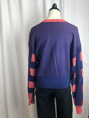 Pre-Loved Rag & Bone Checkered Sweater - Pink/Blue