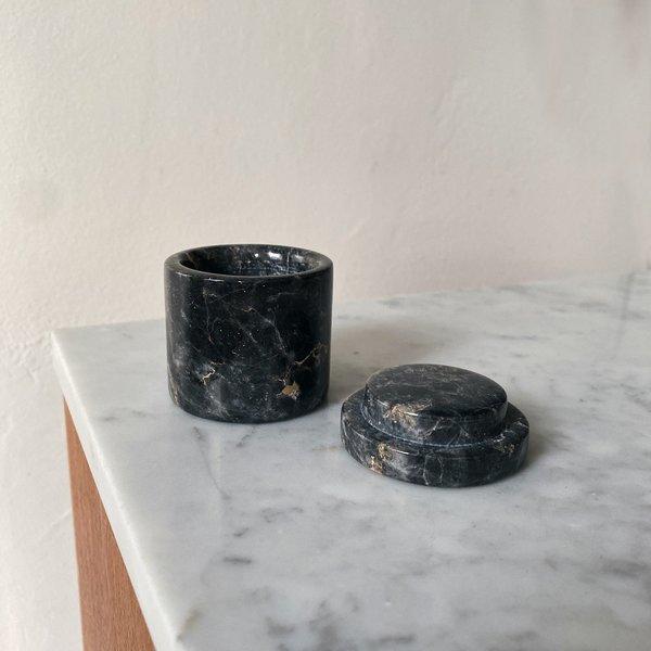 Tarin Thomas Marble Ring Box - Grey