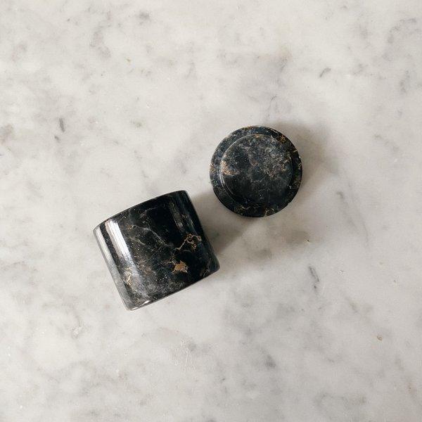 Tarin Thomas Marble Ring Box - White