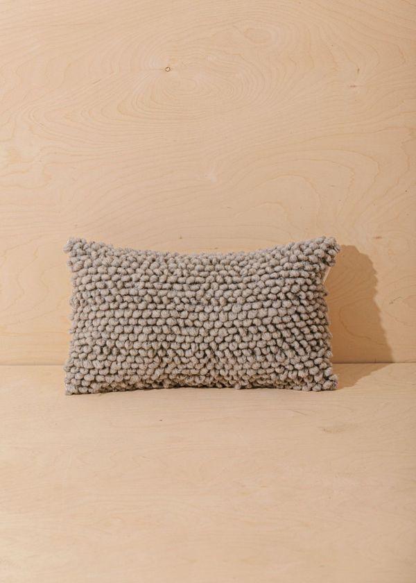 Territory Nube Lumbar Pillow Cover - Grey