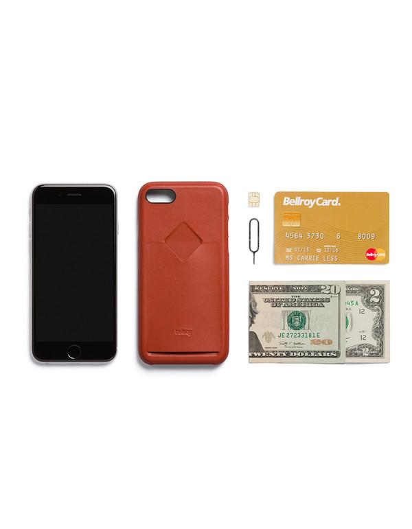 Bellroy Phone i7 1 Card Case - Tamarillo
