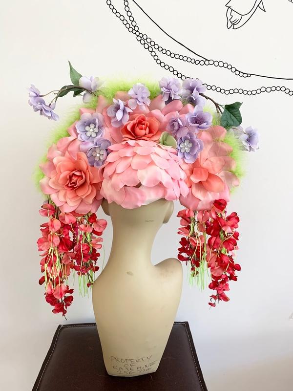 Kate McNee Headdress - Pink Floral