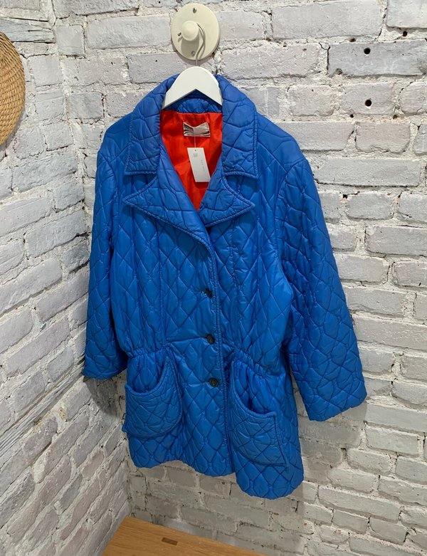 Vintage Quilted Coat