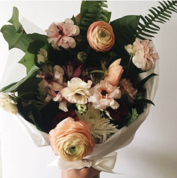 Sunday Supply Co. Ardent Rose Valentines Bouquet