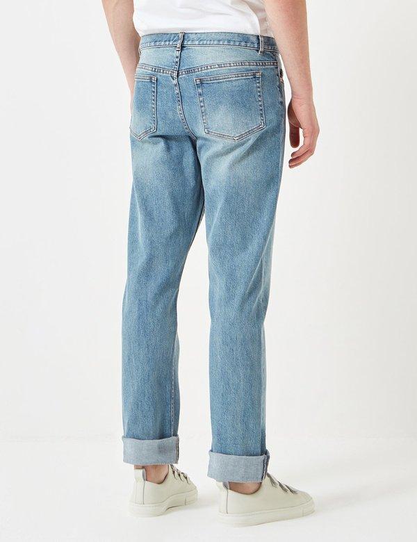 A.P.C. Petit Standard Jeans - Indigo Stone Wash