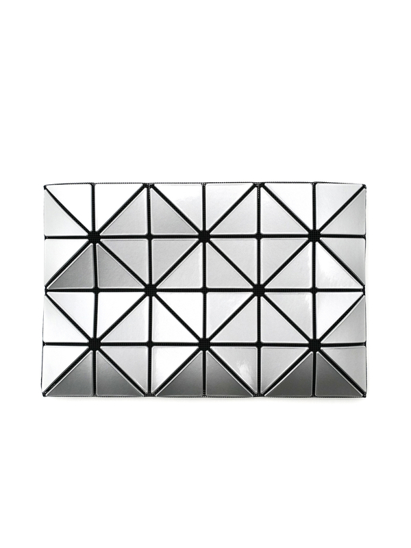 Bao Bao Issey Miyake Lucent Flat Pouch - Silver