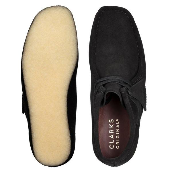 Wallabee Boot. 'Black Sde'