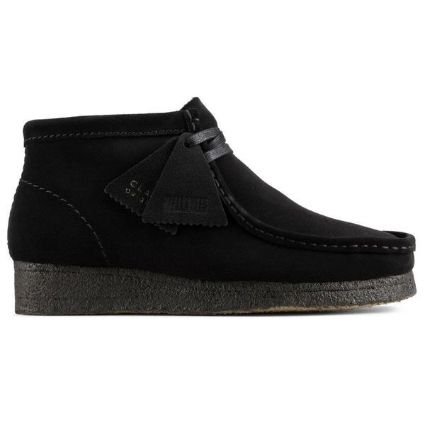Wallabee Boot. 'Black Sde'