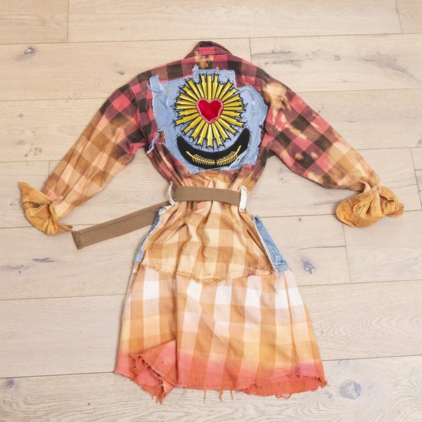 Flannel Wrangler Shirt Dress