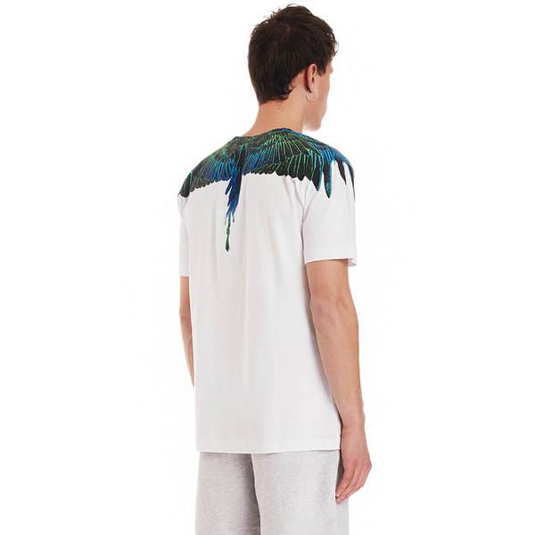 MARCELO BURLON Wings Regular t-shirt Men Size XL EU