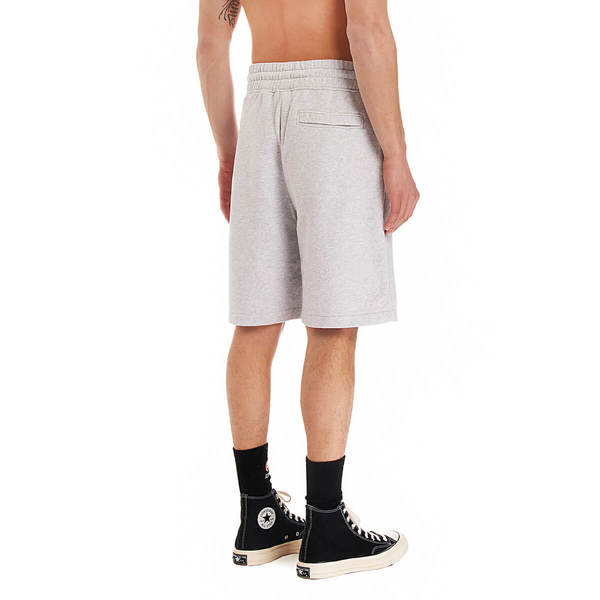 MARCELO BURLON Cross Basket shorts - Grey