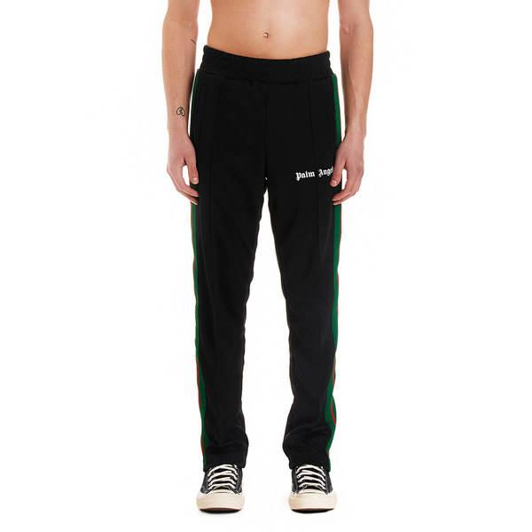 PALM ANGELS College track pants - Black