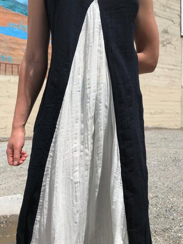 Mara Hoffman Miro Dress - Cream/Black