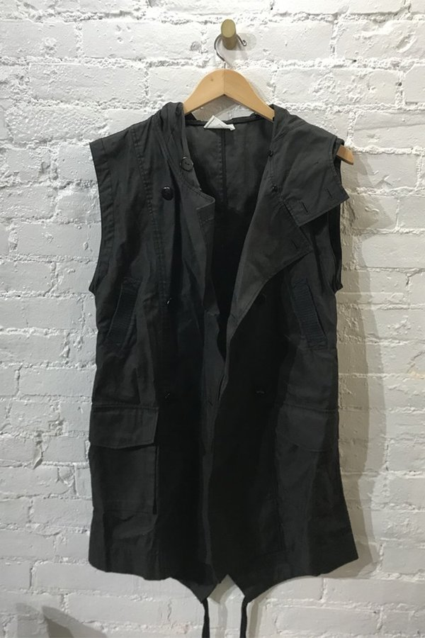 M.PATMOS Hooded Vest- Small