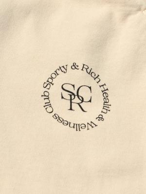 Sporty & Rich SRHWC Sweatpants - Beige/Black