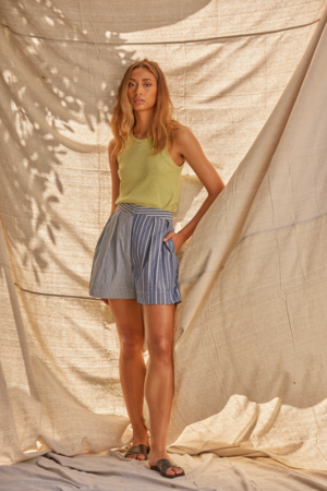 Lois Hazel Direction Shorts - Blue