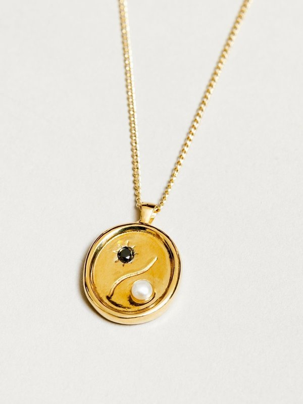 Astra Necklace in Gold
