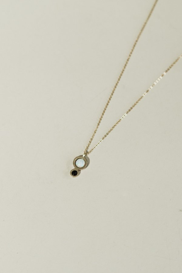 Therese Kuempel Mini Orbit Necklace - Opal