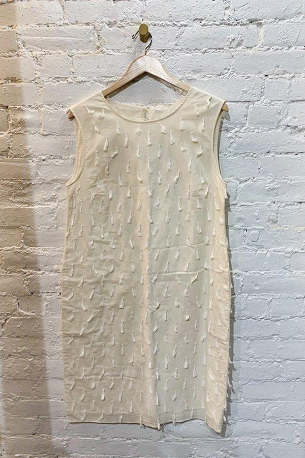 Tasseled Shift Dress - Medium, Large