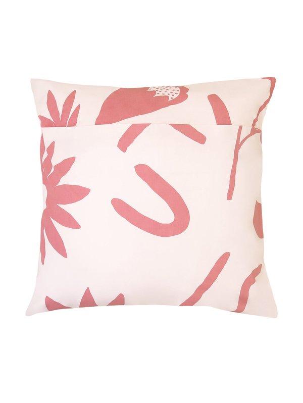 Mosey Me sample Floral Dreams EURO Pillowcase set - Ink/Musk