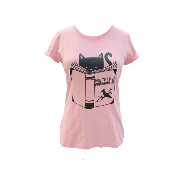 Farm Stand How to Kill a Mockingbird T-Shirt - pink