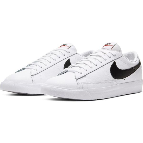 Nike BLAZER LOW LEATHER sneakers - white/black