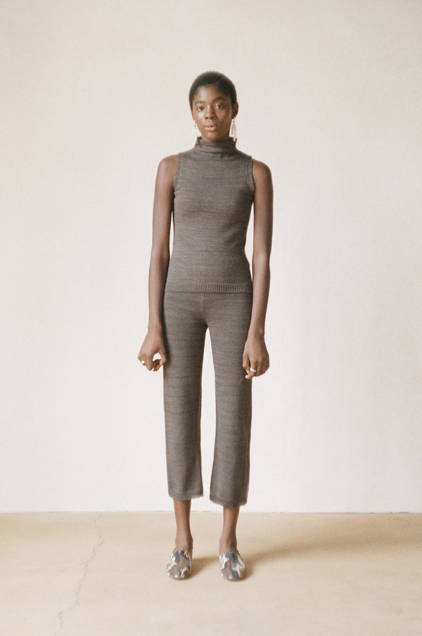 Maria Stanley GALLO PANT - charcoal
