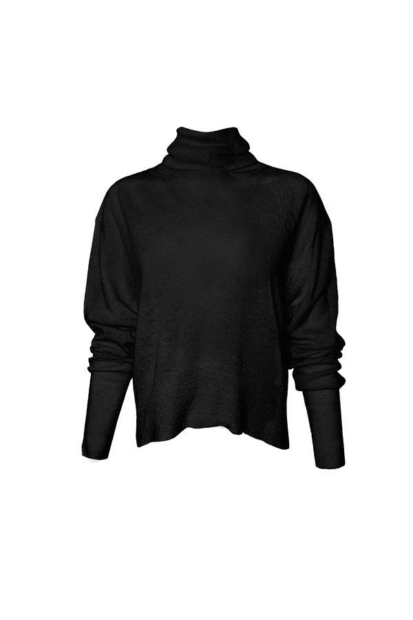 KES X Lars Turtleneck Pullover - Black