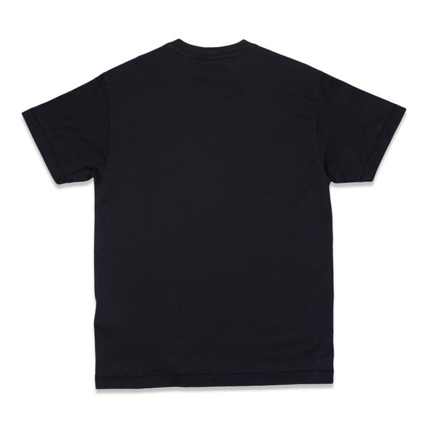 24113 60/2 Cotton Jersey Garment Dye T-Shirt - Black