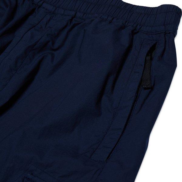 31403 Stretch Cotton Tela 'Paracadute' Garment Dyed Pants - Blue Marine