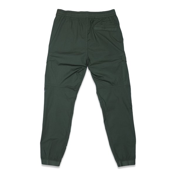 31403 Stretch Cotton Tela 'Paracadute' Garment Dyed Pants - Olive