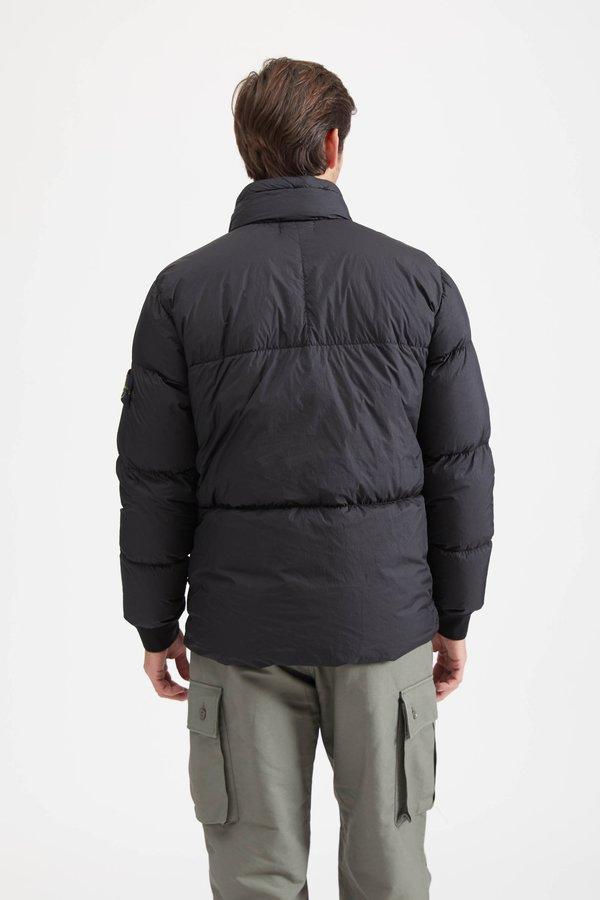 40123 Garment Dyed Crinkle Reps Jacket - Black