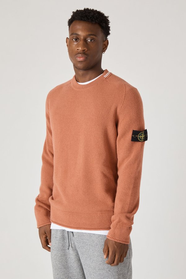 513A3 Lambswool Knit Sweater - Rust