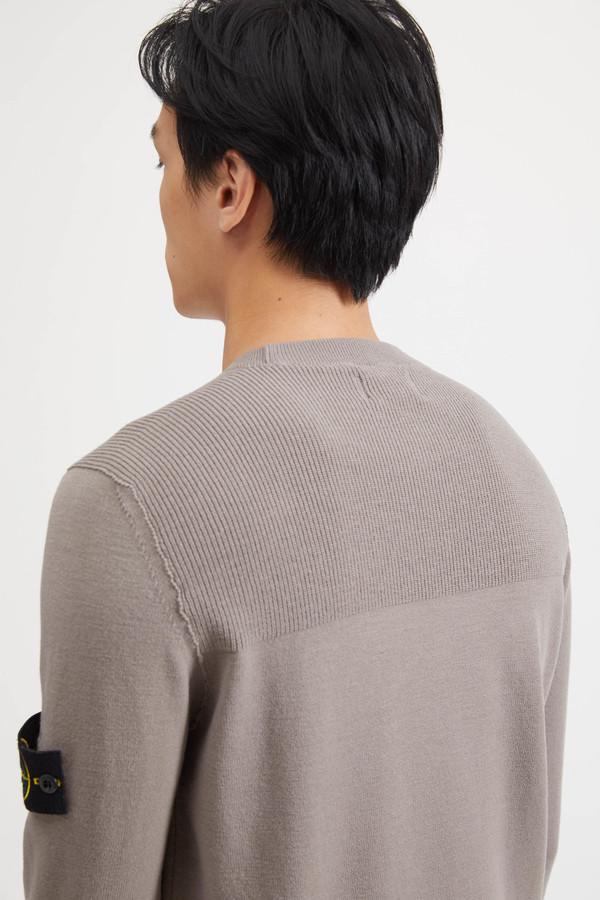 591A1 Lana Elasticizzata Knit Sweater - Mud