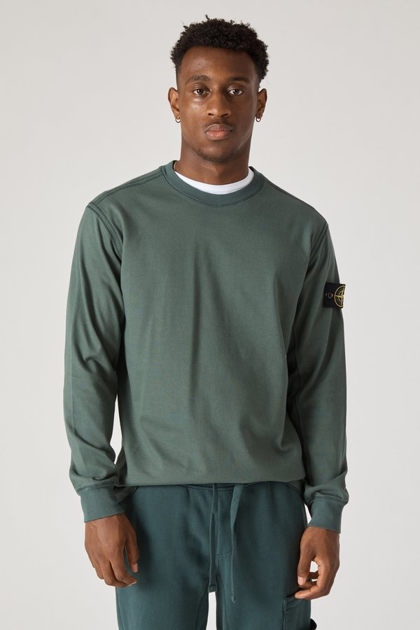 62350 Heavy Gauge Cotton Crewneck Sweatshirt - Petrol