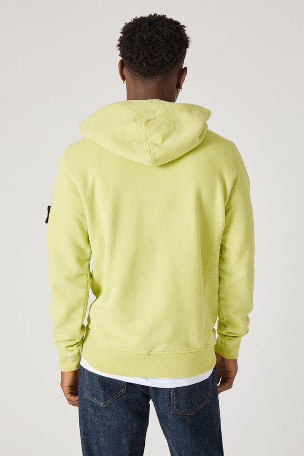 62820 Cotton Fleece Garment Dyed Hoody - Pistachio