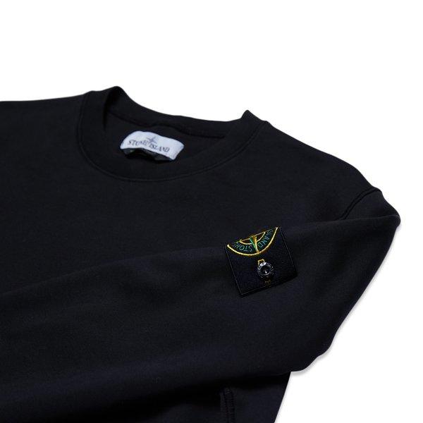 63051 Cotton Fleece Garment Dyed Sweatshirt - Black