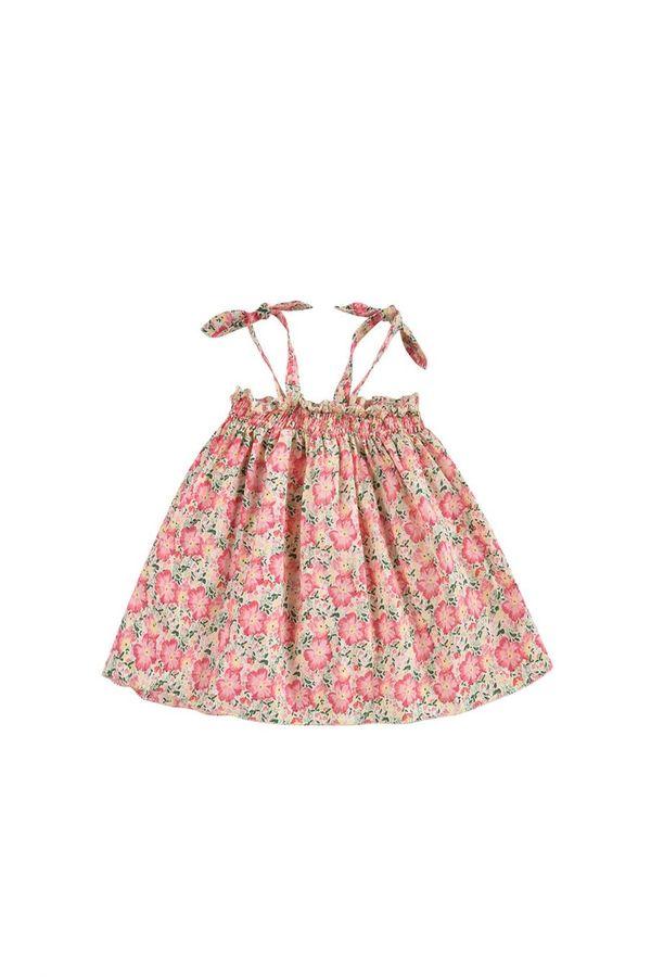 Kids Louise Misha Marceline Dress - Pink Meadow