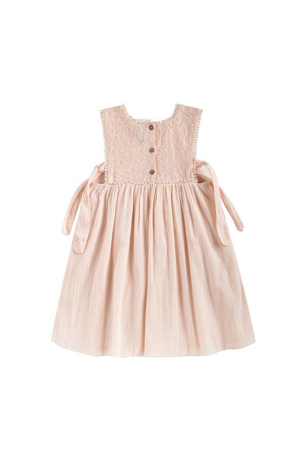 Kids Louise Misha Paolina Dress - Blush