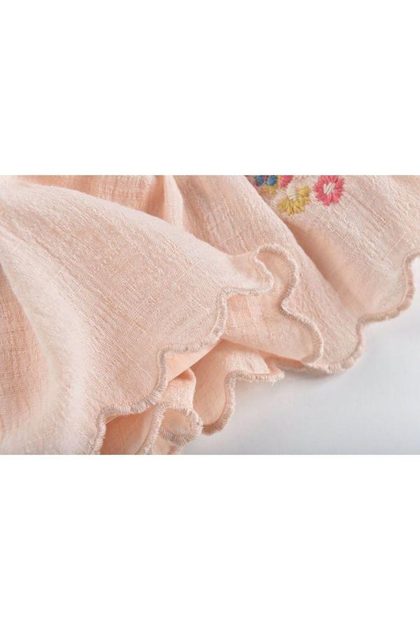 Kids Louise Misha Riola Skirt - Blush