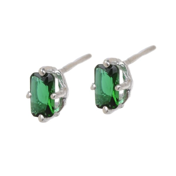 Tarin Thomas Jordan Green Quartz Earrings