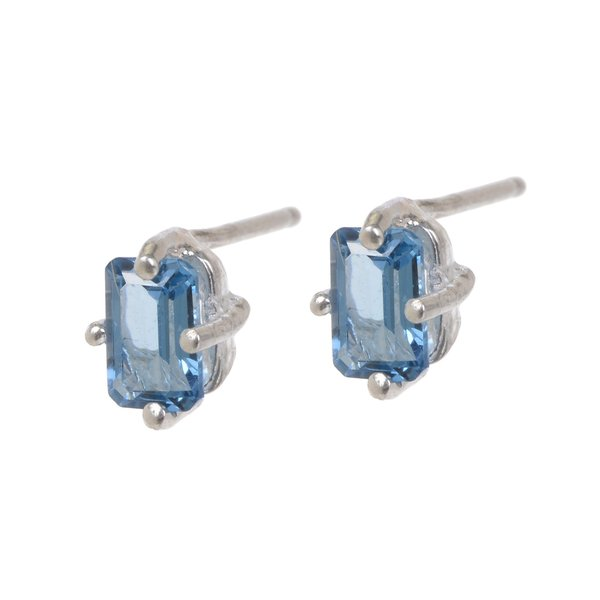 Tarin Thomas Jordan London Blue Topaz Earrings