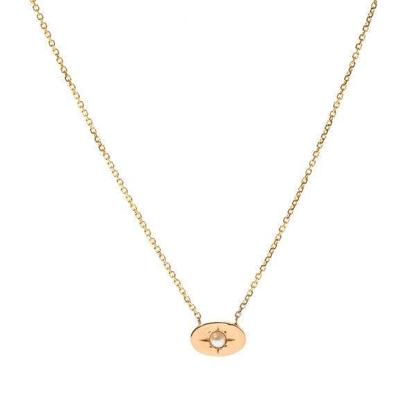Tarin Thomas Nara Pearl Necklace