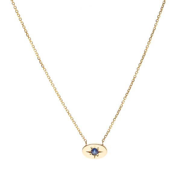 Tarin Thomas Nara Sapphire Necklace