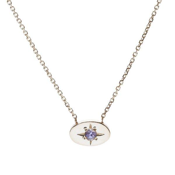 Tarin Thomas Nara Tanzanite Necklace