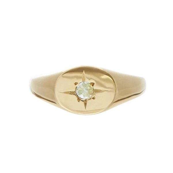 Tarin Thomas Nara Aquamarine Ring